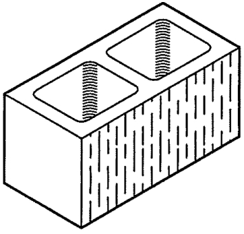 "Block 8"" All Rake, Standard [Drawing]"