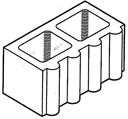 "Block 8"" Scallop, Standard [Drawing]"
